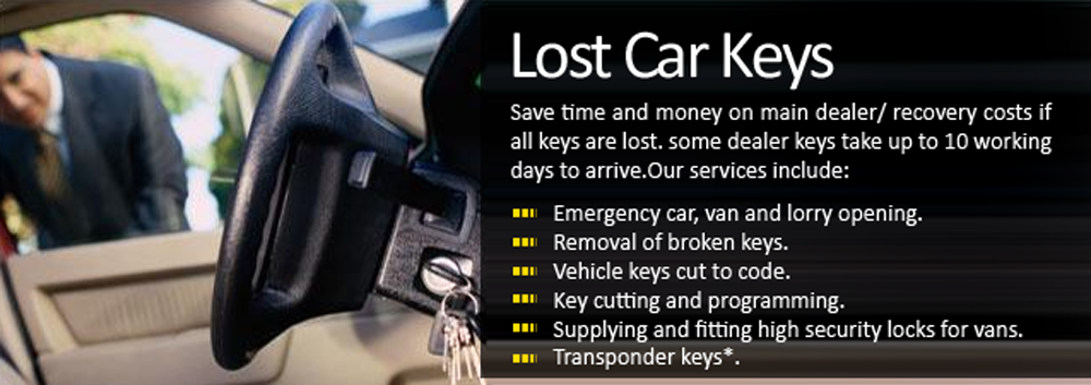 Lost Car Key Oxford